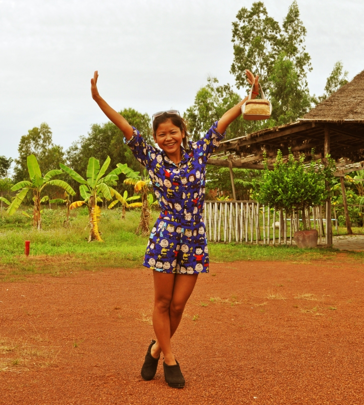 Siem Reap TV Host, Lilly Phy