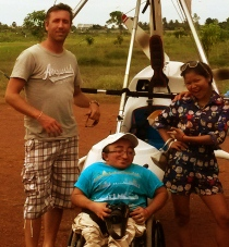 Lilly, Mitch, & Scott - Siem Reap TV Team